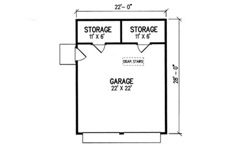Single Car Garage Plans featured house plan pbh 3162 professional builder