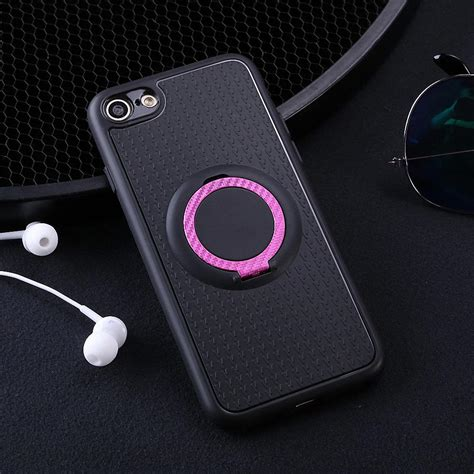 magnetic ring stand shockproof hybrid rubber cover for iphone 5 6s 7 8 plus ebay