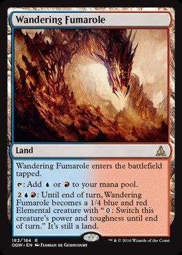 Magic The Gathering Single R Prepare Fight magic the gathering wandering fumarole 182 184 oath of the gatewatch desertcart