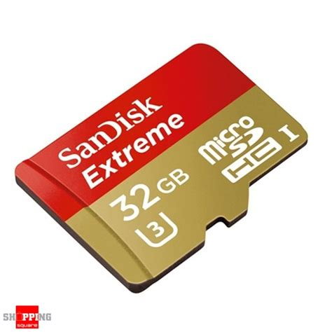 Sandisk Sdhc Uhs I 32gb 60mb S sandisk 32gb micro sdhc uhs i u3 memory card up to 60mb s shopping shopping