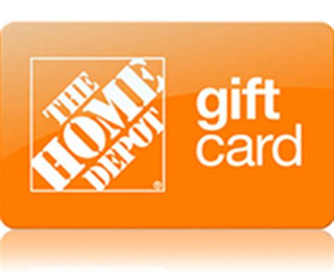 Home Depot Electronic Gift Card - 25 home depot e gift card