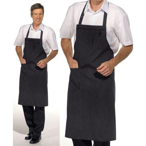 tablier de cuisine personnalisé homme tablier cuisine 224 bavette 1poche plaqu 233 e sur le c 244 t 233 peut