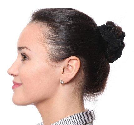 different types of bun hairstyles different types of hair buns