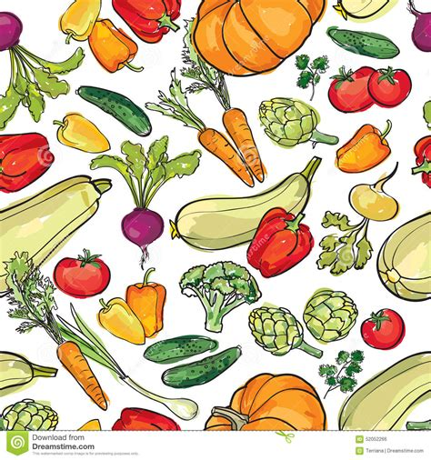 vegetables pattern wallpaper vegetables pattern garden harvest seamless background