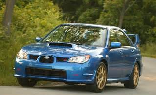 2007 Subaru Impreza Wrx Car And Driver