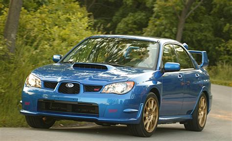 sti subaru 2007 2015 subaru wrx sti drive review car and driver