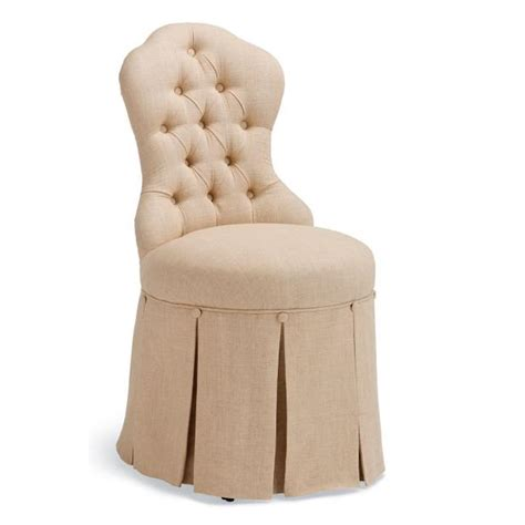 skirted vanity chair sabrina vanity stool frontgate
