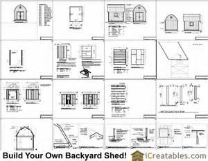 barn shed plans gambrel workshop