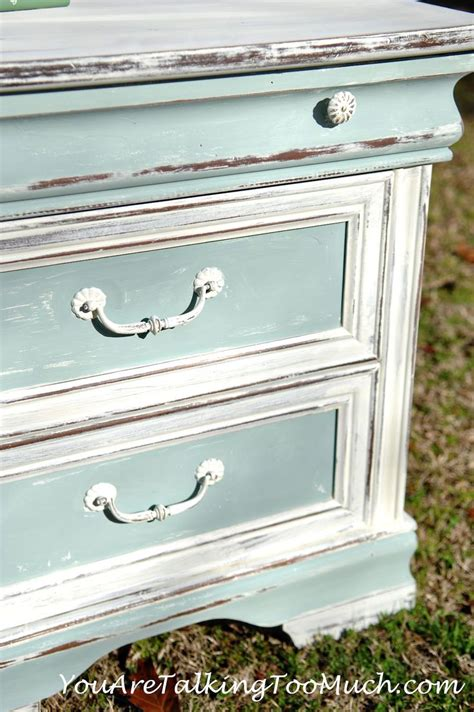 shabby chic end table ideas pinterest