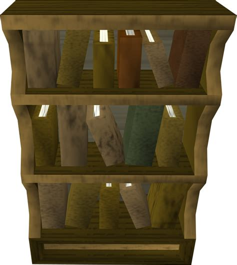 wooden bookcase the runescape wiki