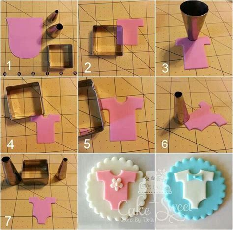 How To Make Fondant Decorations by 25 Best Ideas About Baby Shower Cupcakes On