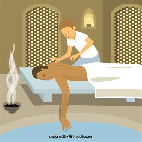 imagenes relajantes para descargar gratis ilustraci 243 n masaje relajante descargar vectores gratis