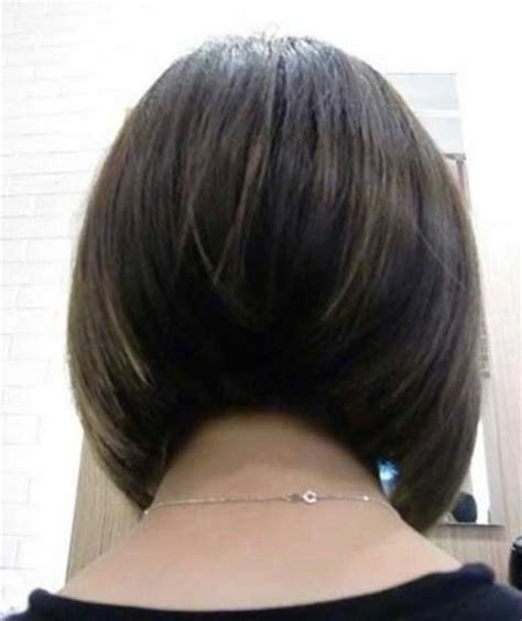 back of bob haircut pictures back view of layered graduated bob hairstyle short