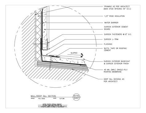 Excel Edge Vinyl Board - usg design studio rigid insulation details