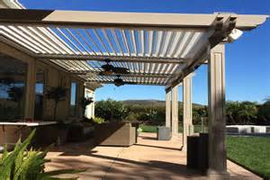 Retractable Motorized Awnings Motorized Retractable Awnings Expand Your Outdoor Living