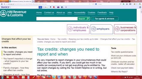 Tax Credit Form Phone Number Working Tax Credit Number 0843 850 2000 Contact
