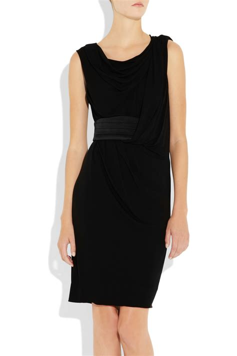 Harsey Dress wang draped crepe jersey dress clothes fashion