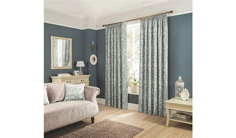 charcoal damask curtains george home charcoal classic damask pencil pleat curtains