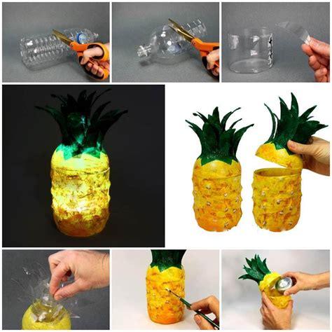 Plastic Bottle L Diy Diy Pineapple L From Plastic Bottles