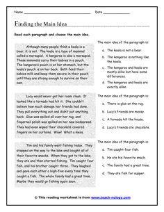 116 Best Teaching Main Idea Images School Teaching