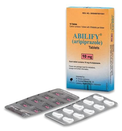Abillify Dismelct 10mg Dan 15 Mg otsuka products contact information mims indonesia