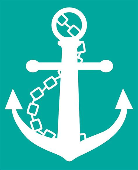 Items Similar To Love Anchors - items similar to anchor in white with teal background 8x10