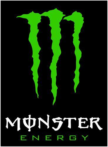 Monster Aufkleber Gold by Monster Energy Vinyl Sticker Whitetext Monster Energy