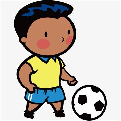 dibujos de niños jugando wii ni 241 o jugando al f 250 tbol jugar futbol football chico