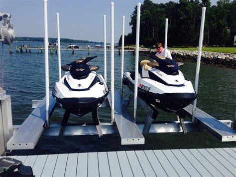 jet ski boat dock lift personal watercraft boat lifts golden boat lifts