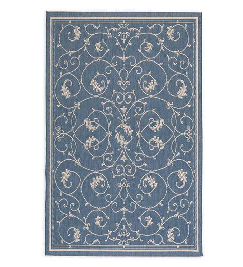 10 13 scroll outdoor rug veranda scroll indoor outdoor rug 7 6 x 10 9 indoor