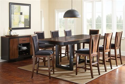 julian extendable rectangular counter height dining room