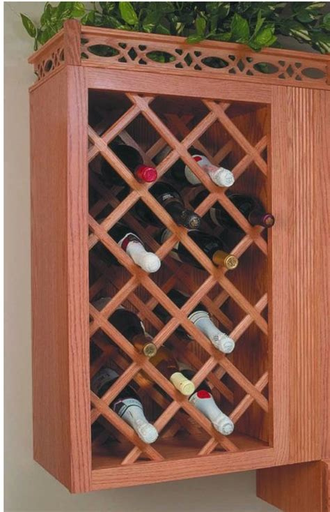 Lattice Wine Rack by Wood Wine Rack Lattice Woodworking Projects Plans