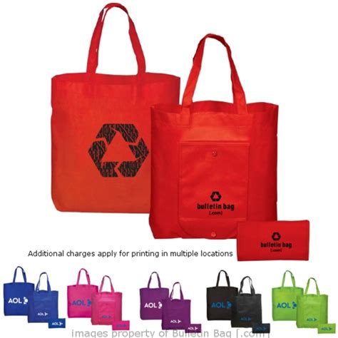 Tote Folding Bag folding bags folding snap nonwoven tote bulletin bag