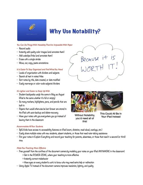 templates for notability note taking ipads and ieps