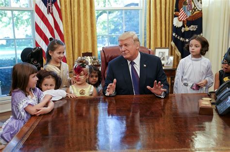 white house for kids washington trump greets kids in oval office for early
