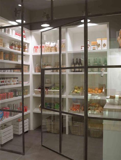 pantry  wraparound shelves cottage kitchen