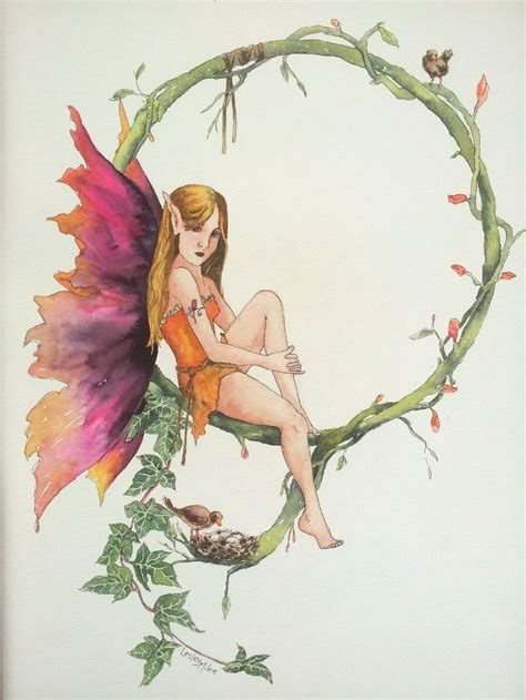 zyla pixie spring artists spring fairy by lesley milne art by lesley milne