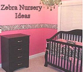 Pink Zebra Baby Nursery Ideas For Spring Pink And Black Nursery Decor