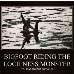 Loch Ness Monster Meme - big foot jokes kappit