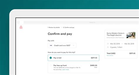 airbnb payment we show you how you pay less up front for airbnb bookings bt