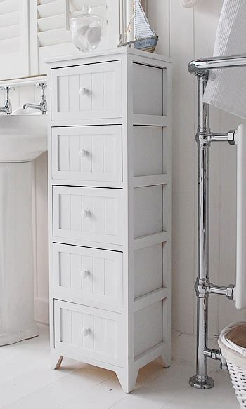 white freestanding bathroom cabinet maine narrow tall freestanding bathroom cabinet with 5