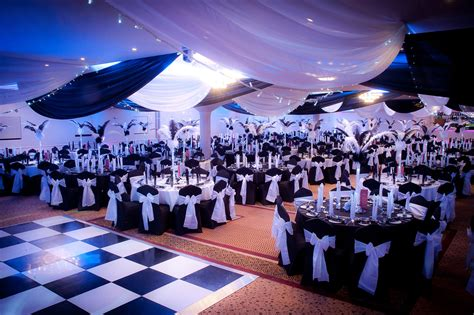 themes for christmas ball black and white party decor google search birthday