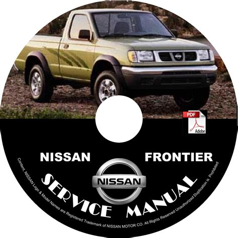 free car repair manuals 1999 nissan frontier windshield wipe control 1999 nissan frontier service repair shop manual on cd 6 cyl 3 3l vg engine