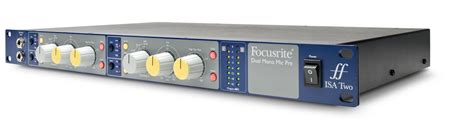 best isa top news focusrite isa two classic dual mono
