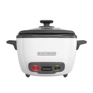Rice Cookers & Steamers   BLACK   DECKER