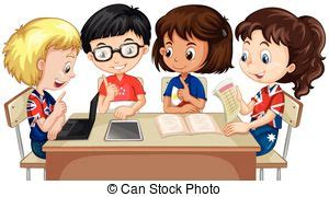 students working in groups clip art groupwork vector clipart royalty free 49 groupwork clip