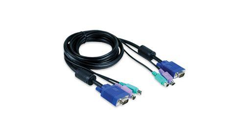 Kvm Cable 1 3 15m 4 port ps 2 kvm switch dkvm 4k d link
