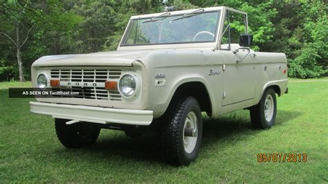 ford bronco 1970 1970 ford bronco 4x4 early bronco