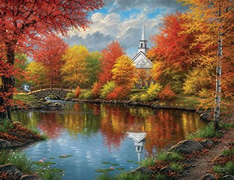 Jigsaw Puzzle 1000 Pcs The Harvest Vintage stunning autumn jigsaw puzzles for ushering in fall