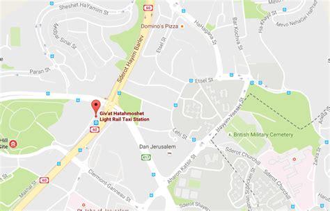 jerusalem light rail map 2 israelis killed 6 injured in palestinian shooting